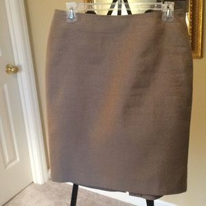 Talbots Gold Skirt